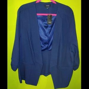 Torrid navy blue suit jacket size 4 blazer